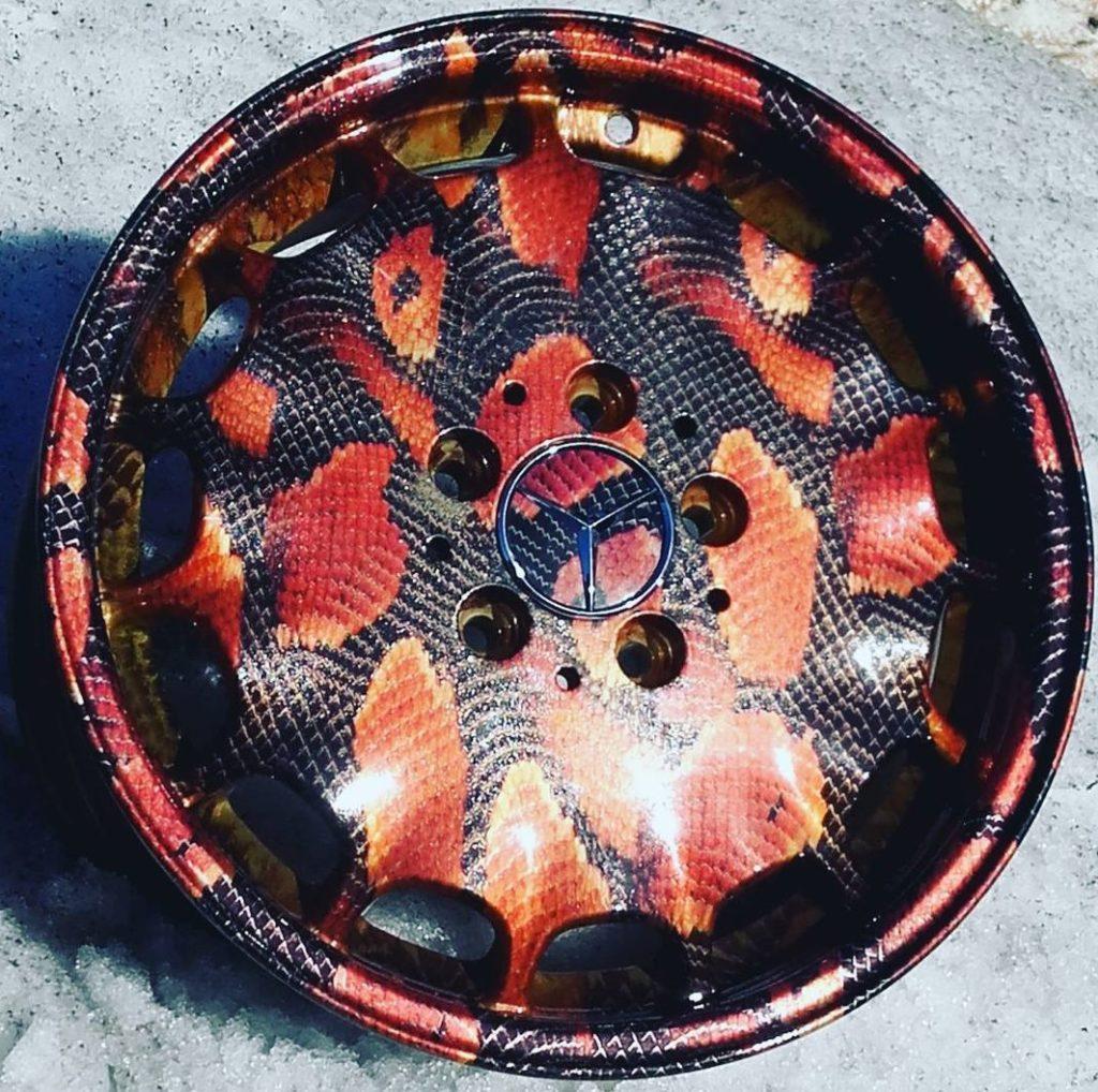 аквапечать Полимерная порошковая покраска дисков в Новосибирске